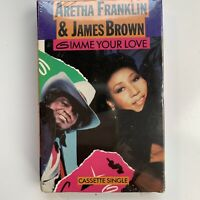 Aretha Franklin & James Brown Gimme Your Love (Cassette) Single New Sealed