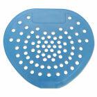 """Health Gards Urinal Screen 7 3/4""""w x 6 7/8""""h Blue Mint Dozen 03904"""
