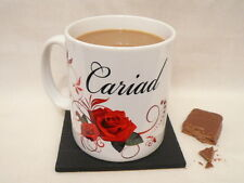 Personalised Mug Welsh Gift Birthday Anniversary Wedding Christmas Coffee Cup