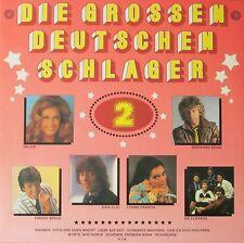 Die grossen deutschen Schlager 2 - Kulthits von Wolfgang, Dalida, Drafi... (LP)