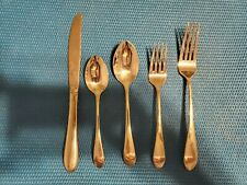 New listing 5 piece place setting Gorham Meredith 18/8 Stainless Steel