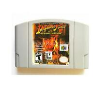 For N64 Indiana Jones and the Infernal Machine Cartridge game English US version