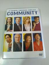Community Erste Saison Komplette 25 Folgen - 4 X DVD Spanisch Englisch - 3T