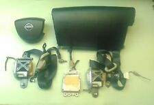 FULL SET OF AIR BAGS, SEAT BELTS  & MODULE 07 2007 Murano