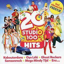 20 Studio 100 Hits (met o.a. K3, Plop, Samson & Gert, ...) (CD)