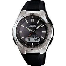 Casio Wave Ceptor Radio controllata wva-m640-1aer Solar Uomo Watch NUOVO CON SCATOLA RRP - £ 140