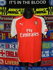 5/5 Arsenal adults L 2014 football shirt jersey trikot soccer