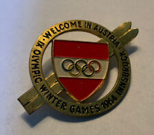 New listing Innsbruck Olympic Pin Badge Noc From The 1964 Olympiad