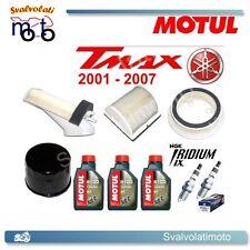 TAGLIANDO T-MAX 2002 3 LITRI MOTUL 5100 + FILTRI ARIA + FILTRO OLIO + IRIDIUM
