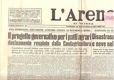 M8 L'ARENA N. 44  ANNO LXXXIX  DEL 20 FEBBRAIO 1955