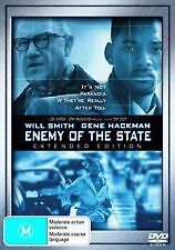 ENEMY OF THE STATE - BRAND NEW SEALED DVD (WILL SMITH, GENE HACKMAN) EXTENDED ED