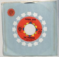 "unplayed STOCK flc 45: THE PREMIERS ""Farmer John"" US 60s WB Original"