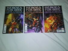 Fear Itself Heroes For Hire #9,10,11 set (2011)