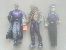 3 x Action Man Villians 2 x Dr X Doctor & Thug rare 2002 VGC complete working