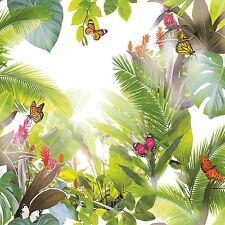 Trópico Amazonia Wallpaper-cítricos-Arthouse 690300 Mariposas