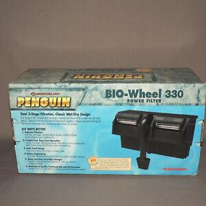 NEW Marineland Penguin BioWheel 330 Power Filter for Aquarium