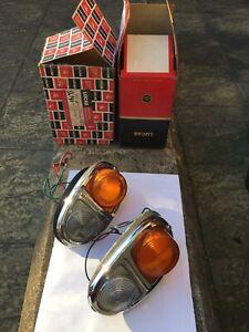 Austin Morris J4 Van Rear Lamps (pair) Brand New In Box.