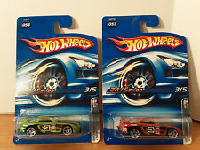 HOT WHEELS  2006 LOT OF (2) NISSAN SKYLINE, 24/SEVEN SEALED NEW. Free Shipping!!