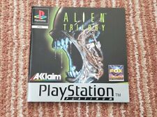 Alien Trilogy. MANUAL  ONLY. Platinum Edition. PS1 Sony PlayStation ONE