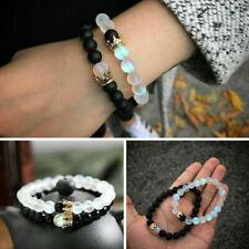 2pcs/set King Queen Crown Couple Bracelets His And Her Friendship Beads Bracelet