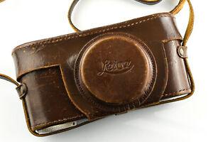 Leitz Leica Leather Eveready Case for various Screw Mount Cameras