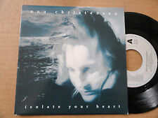 "DISQUE 45T DE  ANA CHRISTENSEN   "" ISOLATE YOUR HEART """