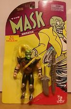 THE MASK ANIMATED SERIES 1ST US RELEASE NINJA MASK FIGURE 1997 MINT ON CARD