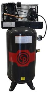 Chicago Pneumatic RCP4981VNS 5HP 80 Gallon 2 Stage Reciprocating Air Compressor