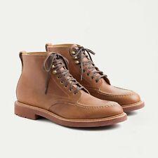 J. Crew Men's Kenton Leather Pacer Boots Light Brown Sz 11 (orig $248) C8867 NIB