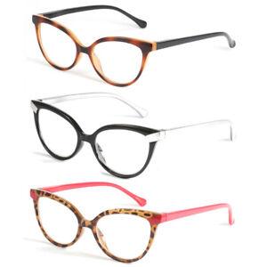 Cat Eye  Blue Light Blocking Reading Glasses Filter Glare Women Readers 0~+3.5