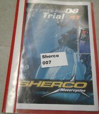 Sherco Trial 3.2 320 4T 08 Ersatzteilbuch Kopie im Schnellhefter, Spare Parts