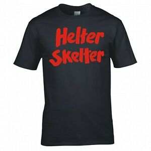 """MURDERINO CHARLES MANSON """"HELTER SKELTER BOOK LOGO"""" T-SHIRT"""