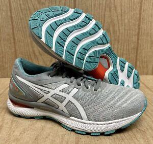 Asics Gel Nimbus 22 Women's Running Shoes 1012A587-020 Sheet Rock/White Trainers