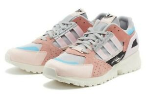 adidas ZX 10000 C FX3099 Gray Pink Shoes Sneaker Men's