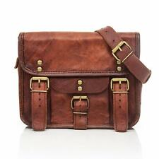 Bag Handmade Real precious Leather Messenger Shoulder Crossbody Laptop Briefcase