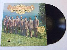 1977 The Inspirations WHEN I GET HOME so. gospel vinyl LP MINT + bonus