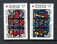 FRANCE MNH 1981 SG2441-2442 RED CROSS FUND