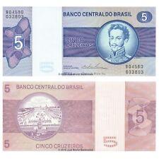Brazil 5 Cruzeiros ND (1974) P-192c Banknotes UNC