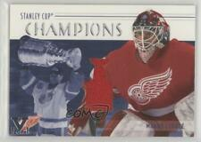 2002 ITG Be A Player Memorabilia 14-15 Ultimate Vault Emerald 1/1 Manny Legace