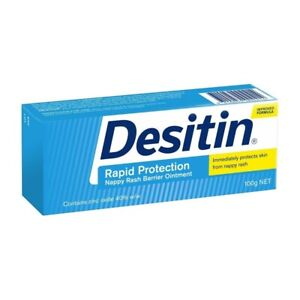 Desitin Rapid Protection Nappy Rash Barrier Ointment 100g