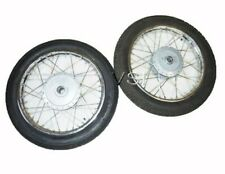 "Complete Wheel Rim Set WM2- 19"" With Tyre & Tube Fits Royal Enfield Bullet"