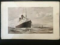 "Vintage Postcard>1907-1915>Cunard R.M.S. ""Carmania"" and ""Caronia"""