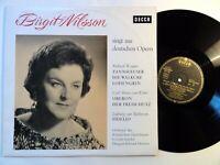 8587) LP - Birgit Nilsson singt aus deutschen Opern - Wagner - Weber - Downes