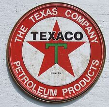 Texaco USA Filling Station Tankstellen Vintage Stil Retro Werbung Metall Schild
