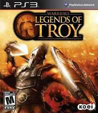 Warriors Legends Of Troy PS3 - LN - Game Disc Only