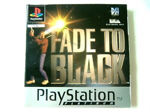 58506 Instruction Booklet - Fade To Black - Sony PS1 Playstation 1 (1996) SLES 0
