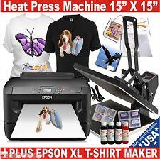 Digital H Press Transfer T Shirt Print Sublimation Machineprinter Epson Xl