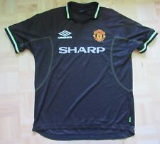 MANCHESTER UNITED Third shirt jersey UMBRO 1998-99 SHARP Red Devils adult SIZE L