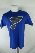 St. Louis Blues Fanatics NHL Men's Black & Yellow Large Logo Graphic T-Shirt