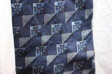 Fashion Neckwear Dress Neck tie mens Blue Navy